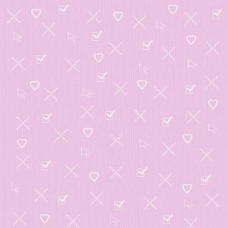 Textura coração - Criação Blog PNG-Free