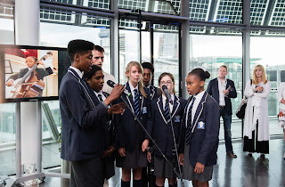 'Take Free' choir from the West London Free School