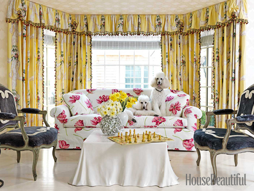 Take A Look At A Few Pics From The House Beautiful Issue And Click Here To  See The Complete Article:
