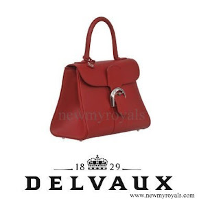 Queen Maxima style DELVAUX Brillant MM Handbag