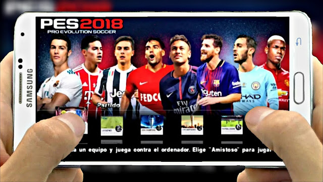 Download PES 2018 Android Offline 900 MB Best Graphics