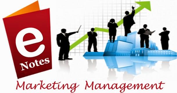 Free Notes of Marketing Management Subject