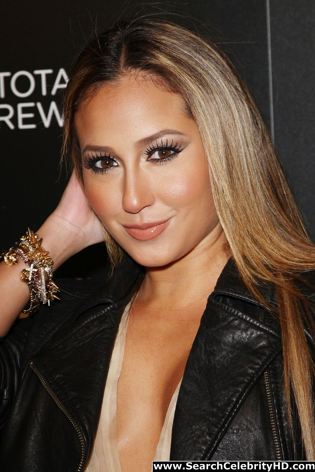 See Celebrities Wearing Her: Fresh Celebrity Pics: Adrienne Bailon Flashing The See