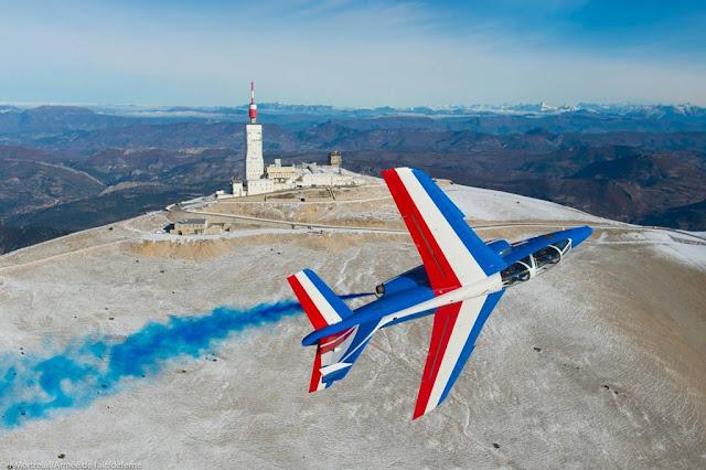 Patrouille de France airshow schedule 2018