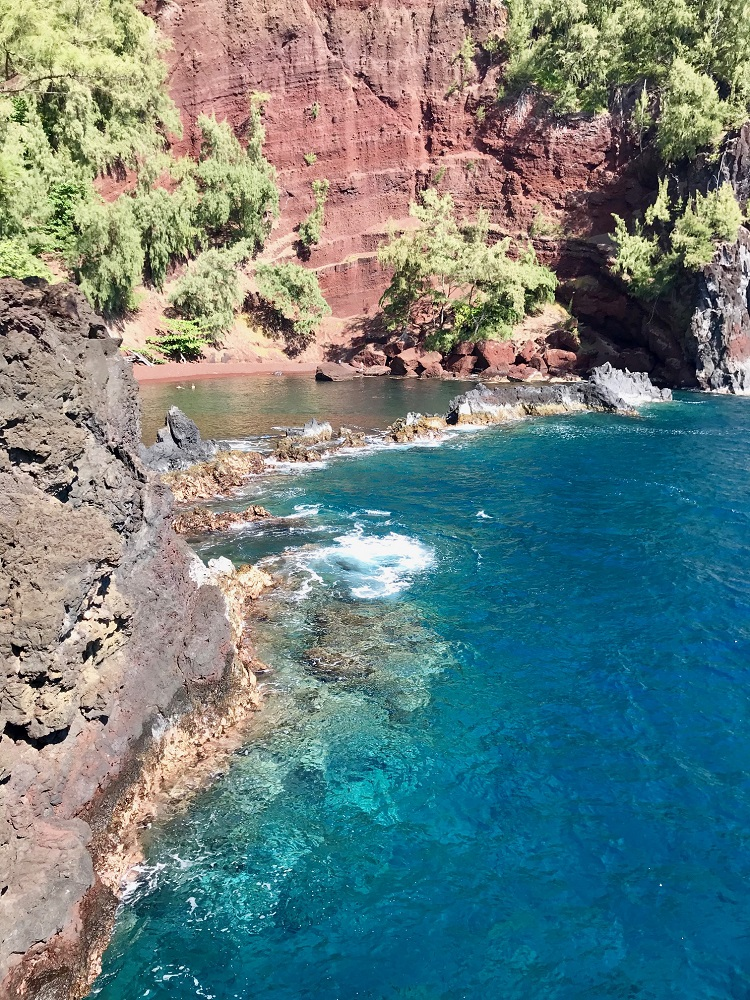Road to Hana, Red Sand Beach, Maui