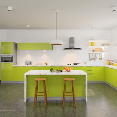 Modular Kitchen by VISHU INTERIORS