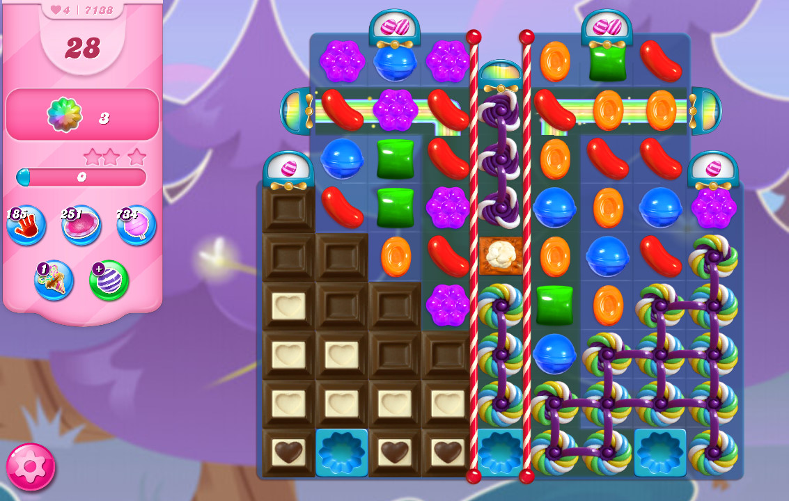 Candy Crush Saga level 7138