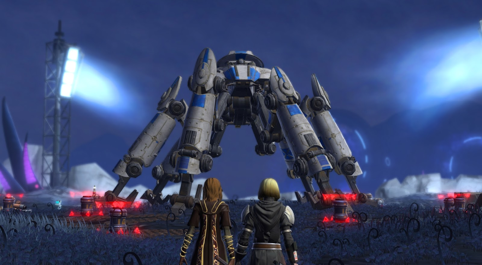 Swtor Bought New Race Not Shoeing Up