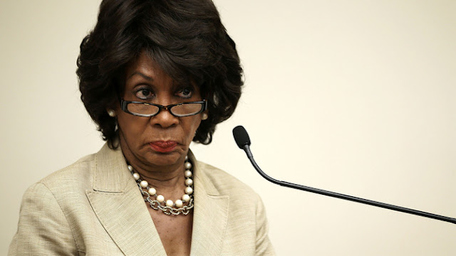Waters is demanding that Mnuchin and Tillerson explain why Trump didn't add new sanctions against Russia
