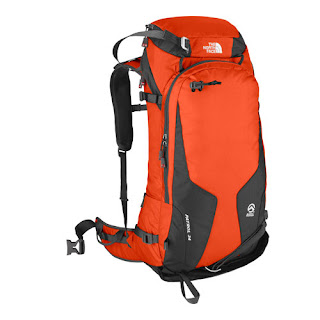 Red NorthFace backpack