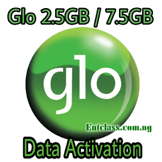 Glo 7.5gb 2.5gb data activation, how to subscribe to Glo 2.5GB 7.5gb data