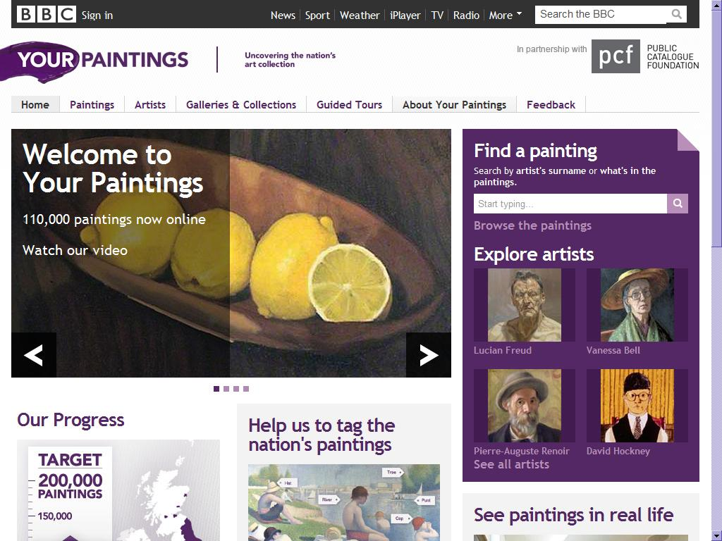 New online resources: Your Wellcome Library Paintings, and National