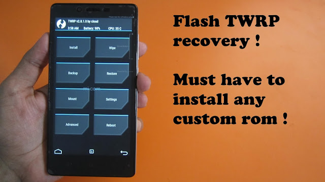 Apakah Xiaomi Redmi 3 Bisa Install Custom TWRP Recovery? Ikuti Tutorial Cara Install TWRP Ini: Baru Bilang BISA!