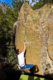 Boulder Collado Cabron La Pedriza
