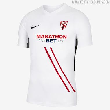 Nike Sevilla Atletico 20 21 Home Away Kits Released Sevilla Fc B Team Footy Headlines