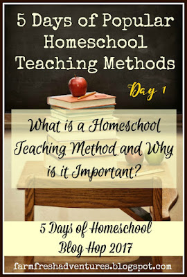 the importance of knowing your homeschool teaching method ~ Day 2