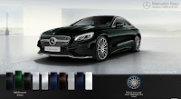 Mercedes S400 4MATIC Coupe 2017 màu Xanh Emerald 989