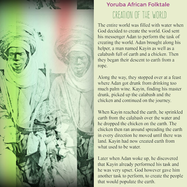 Tour of Africa Yoruba Creation of the World African Folklore