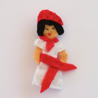 Sanfermina pequeña vestido VENDIDA