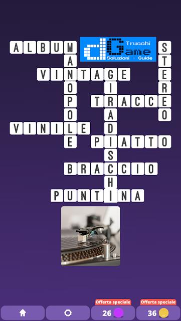 Soluzioni One Clue Crossword livello 13 schemi 5 (Cruciverba illustrato)  | Parole e foto