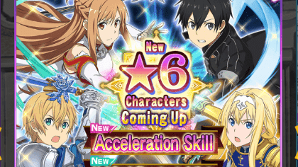 Sword Art Online: MD - Best 6* Burst Damagers and Overall Tier List