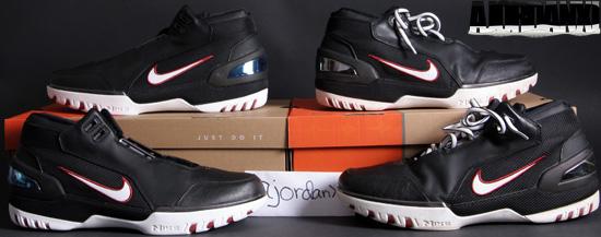 90466571fab5 Nike Air Zoom Generation (2004). 308214-011 Black White-Varsity Crimson