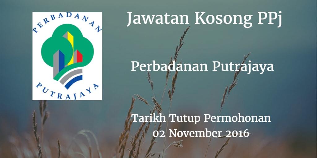 Jawatan Kosong PPj 02 November 2016
