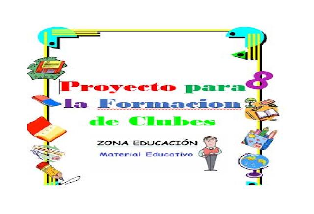 clubes,proyectos,primaria,secundaria