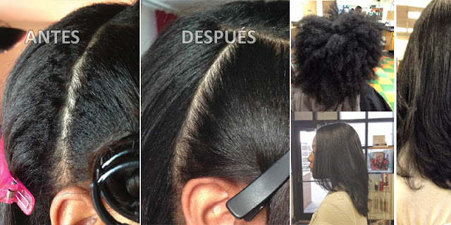 She Use Natural Ingredients And Straighten Hair Easily!