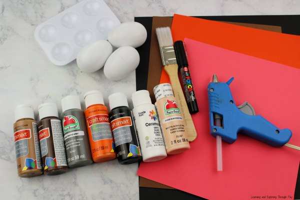 Woodland Animals Egg Craft