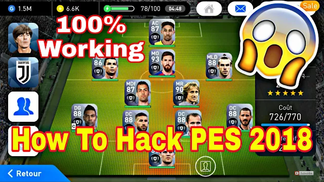 How To Hack PES 2018 Mobile (Android/IOS)