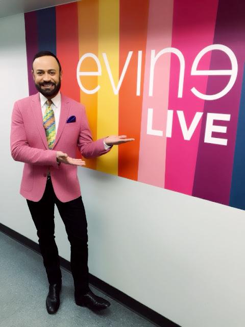 NV Nick Verreos     January 2016 Show on EVINE Live TV