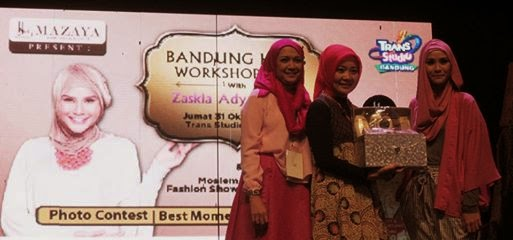 Hijab Workshop Bareng Mazaya