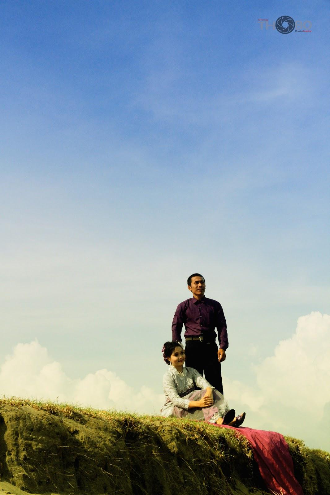 Foto Prewedding Jogja Dengan Lokasi Alam Dan Pegunungan: Thobo Art: Cara Membuat Foto Prewedding Unik