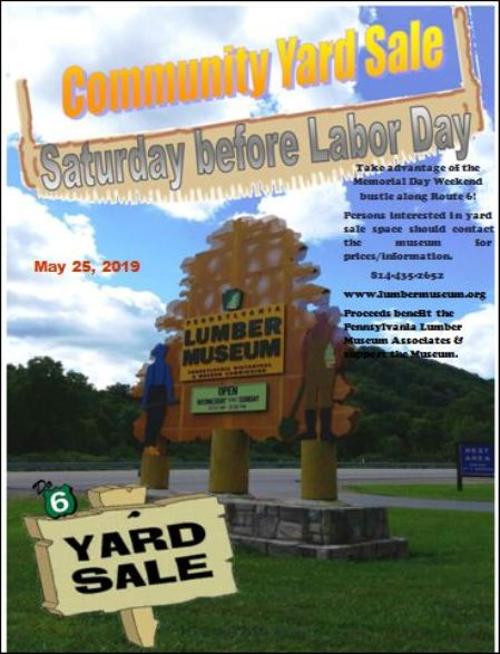 5-25 Community Yard Sale