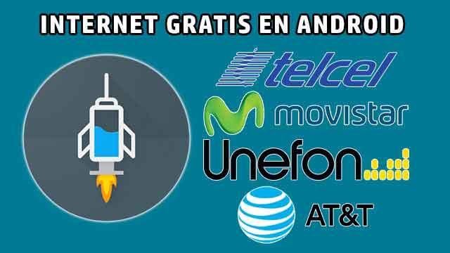 Internet gratis TELCEL, MOVISTAR, UNEFON y AT&T