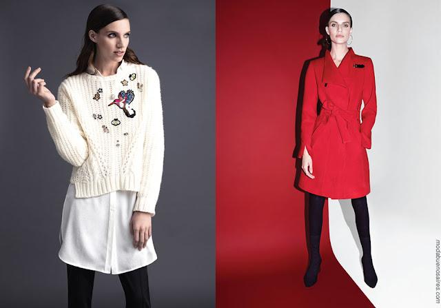 Tapados otoño invierno 2018 ropa de mujer. Moda mujer invierno 2018.