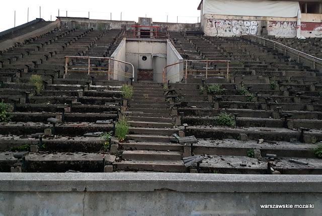 Warszawa Warsaw stadion tor żużlowy sportowy Mikołaj Kokozow Jerzy Wasilewski