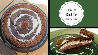Copy Cat Black Tie Mousse Cake