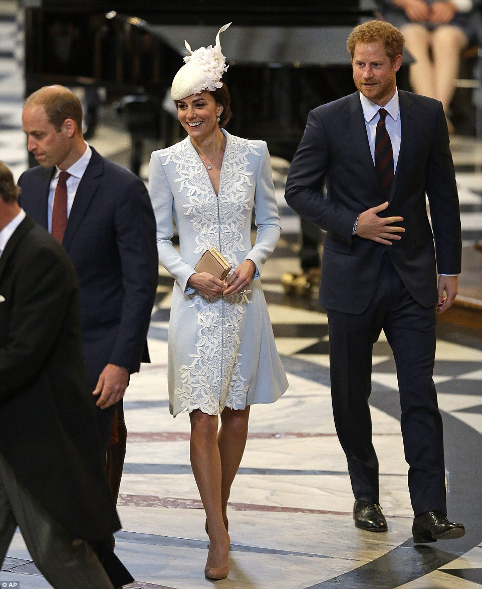 Kate Middleton wears elegant coat dress for the Queen's 90th birthday service