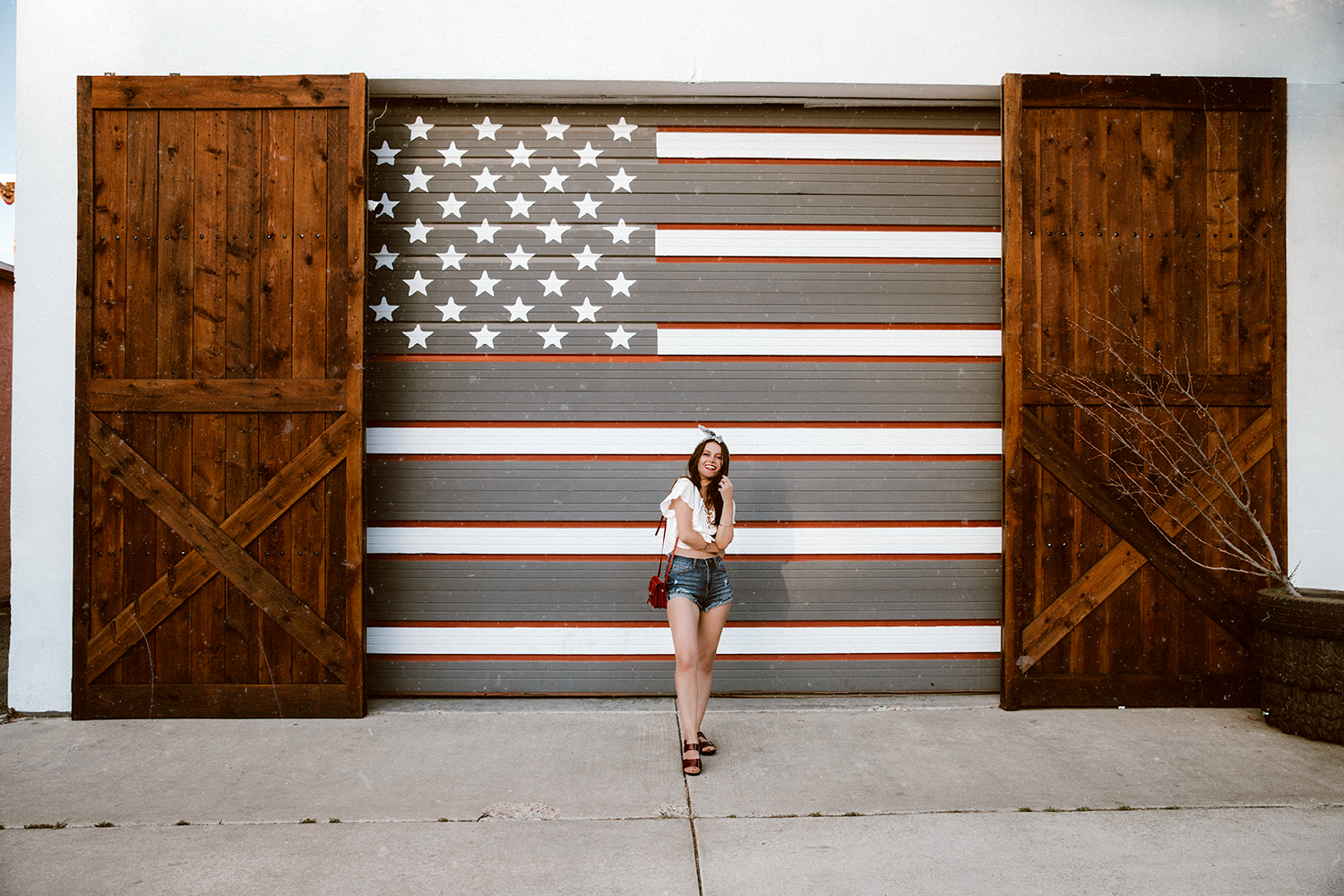 Shelly Stuckman, ArizonaGirl.com, how to style bohemian, fashion blogger, travel blog, Revere Footwear, Show Me Your Mumu, Fourth of July, US Flag
