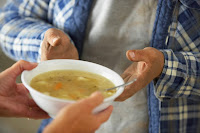 charity, feeding the hungry, soup,