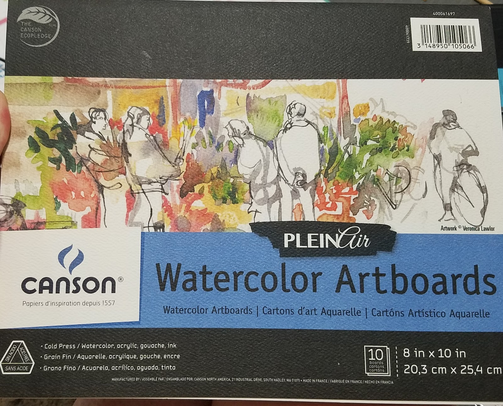 canson watercolor paper Acid-free paper the well-sized cold press surface makes it ideal for bold effect in  watercolor or wash french-made natural white sheet provides an ideal.