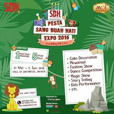 Pesta Sang Buah Hati Expo 2016 - Mall of Indonesia