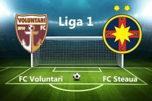 Urmariti meciul FC Voluntari - Steaua București Live pe DolceSport 1