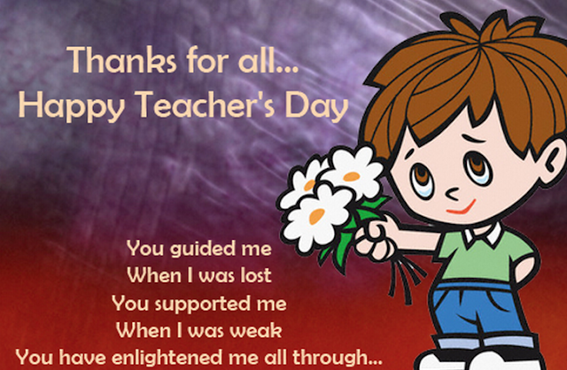 [*HD*] Greeting Cards of World Teachers Day For Wishing Your Best Teacher On World Teachers Day 2016