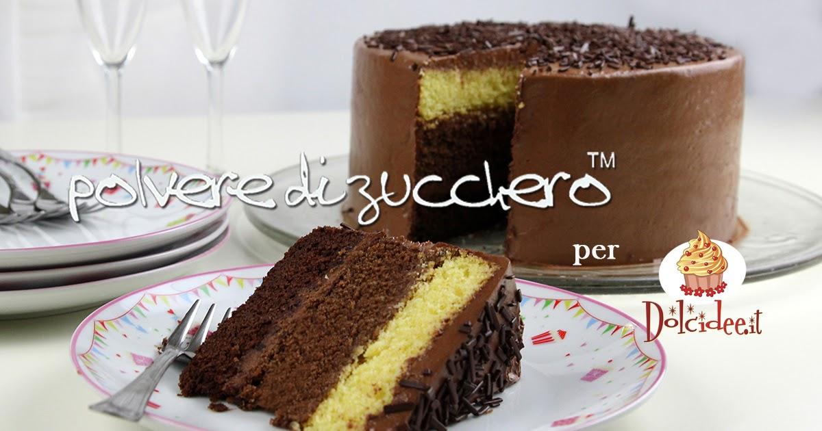 Tutorial Chocolate ombre cake: la torta al cioccolato sfumata farcita con crema al cioccolato