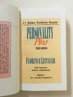 Personality Plus (Florence Littauer)