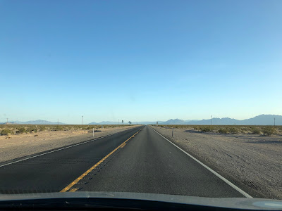 Amargosa Valley looking south along route 373