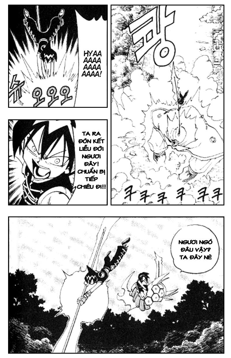 Shaman King [Vua pháp thuật] chap 60 trang 13